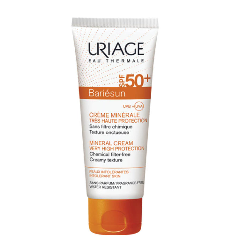 Bariésun Mineral Cream Very High Protection SPF50+ - Intolerant Skin