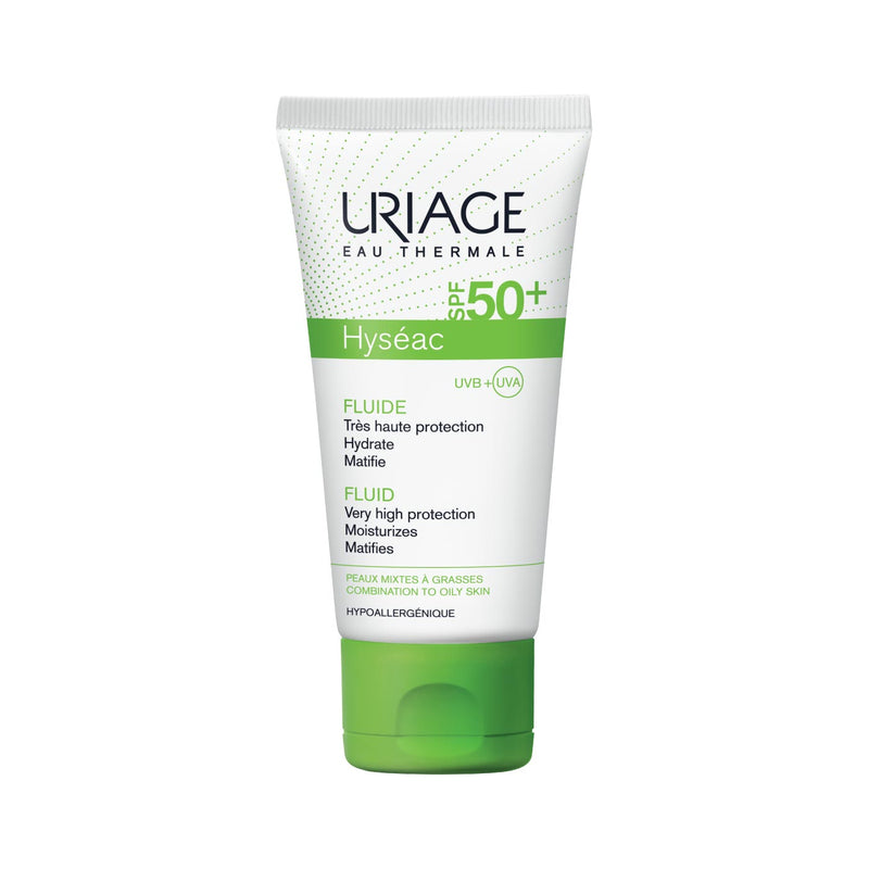 Hyséac Fluid SPF50+ - Combination to Oily Skin