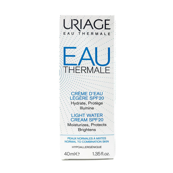 Eau Thermale Water Cream SPF20 - All Skin Types