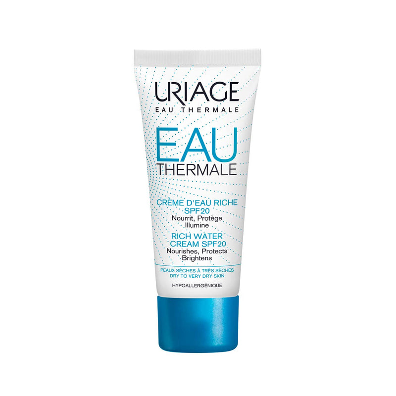 Eau Thermale Rich Water Cream SPF20 - Dry to Very Dry Skin