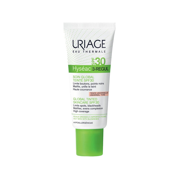 Hyséac 3-Regul Global Tinted Skincare SPF30 - Oily Skin with Blemishes