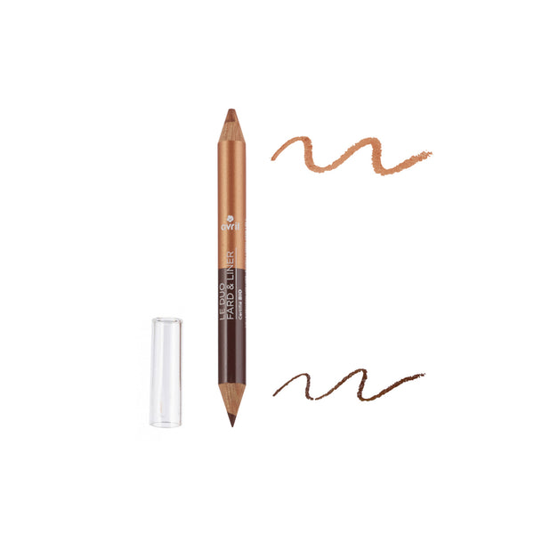 2 in 1 Eyeshadow & Liner - Certified Organic