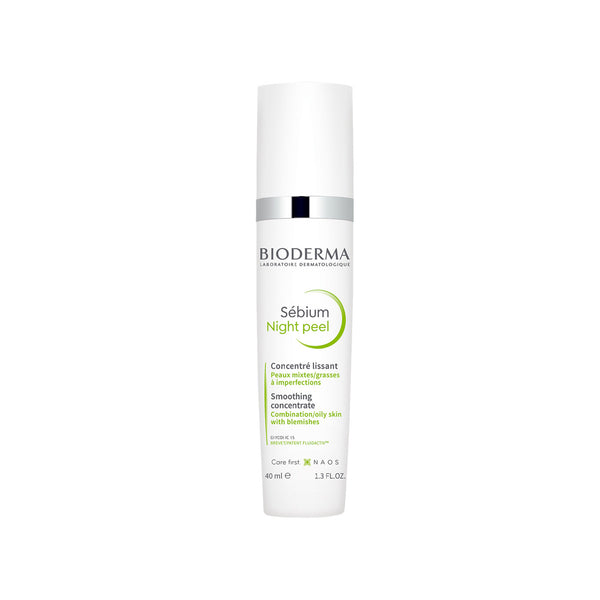 Sébium Night Peel Smoothing Concentrate for Combination, Oily Skin with Blemishes