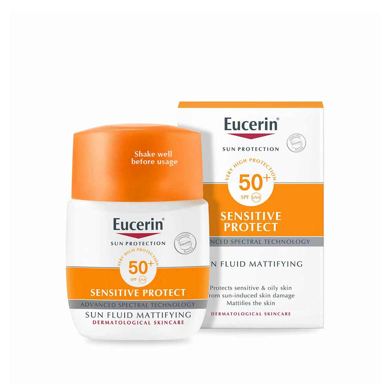 Sun Protection SPF50+ Sensitive Protect Sun Fluid Mattifying