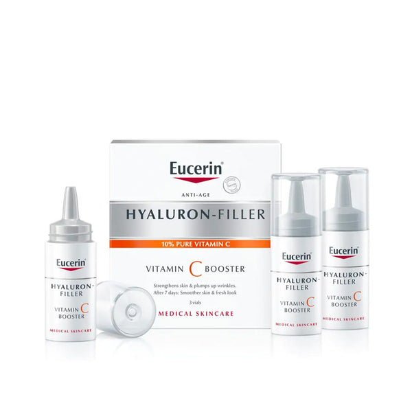 Hyaluron-Filler 10% Pure Vitamin C Booster - Pack of 3 Vials 3x8ml