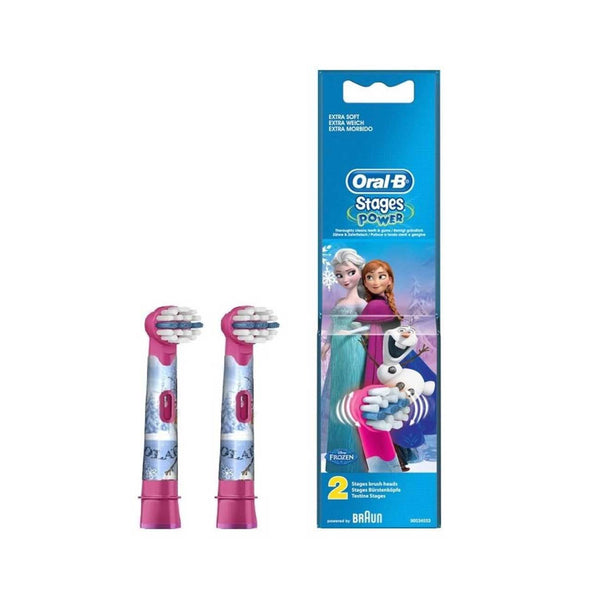 Oral-B Stages Power 3+ Replacement Head: Frozen - Pack of 2