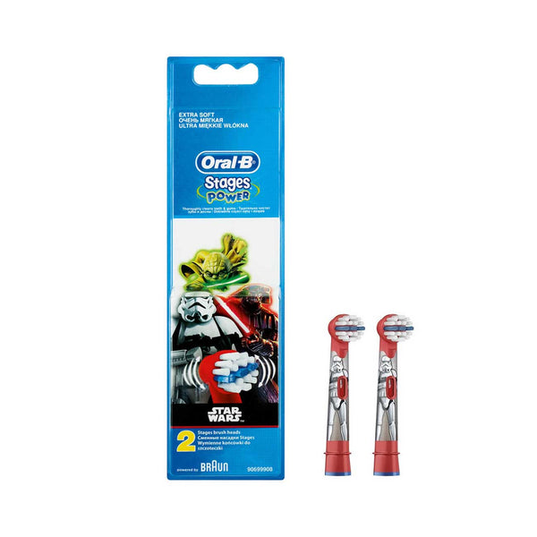 Oral-B Stages Power 3+ Replacement Head: Star Wars - Pack of 2