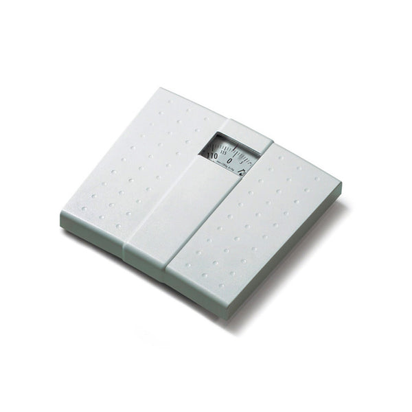 WHITE MECHANICAL BATHROOM SCALE *MS01