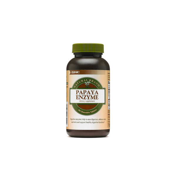 Natural Brand Papaya Enzyme Chewable Tablets