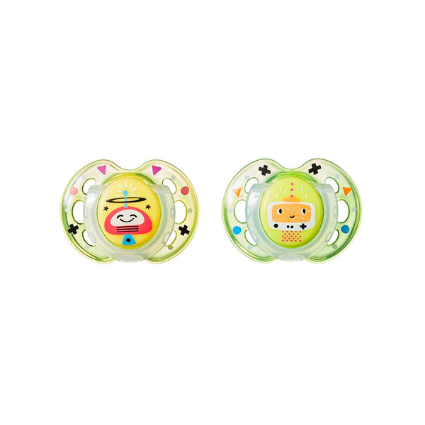 Soother Fun Style 0-6M -Pack of 2