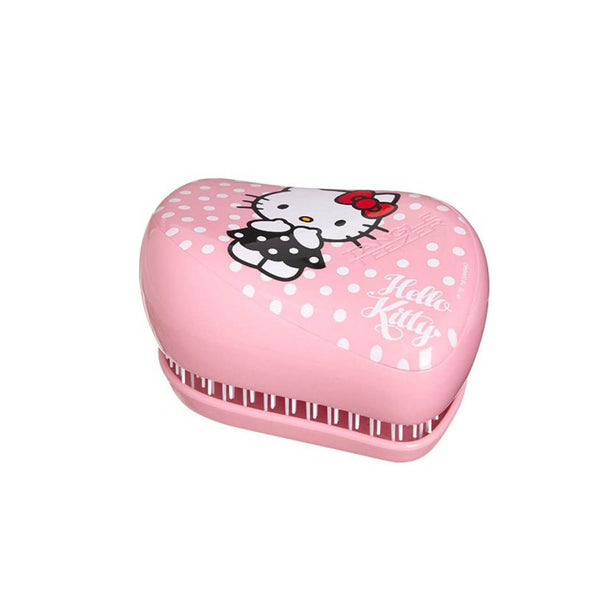 Compact Styler On-The-Go Detangling Hairbrush Smooth and Shine Hello Kitty