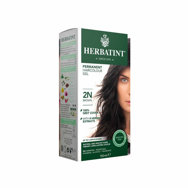 Permanent Hair Colour Gel