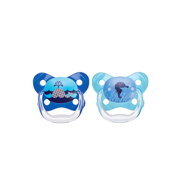 PreVent Contour Pacifier Stage 1 - Pack of 2