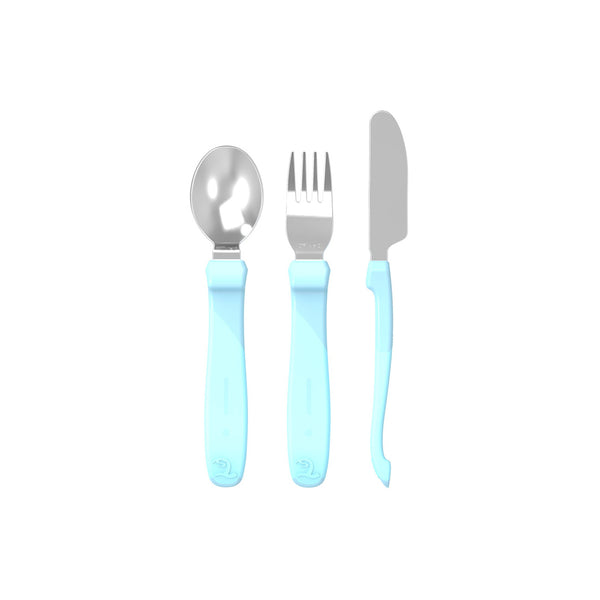 CUTLERY LEARNING SET 12M+