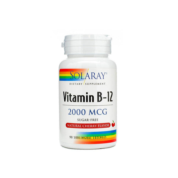 Vitamin B-12 2000mcg Sugar-Free, Natural Cherry Flavor