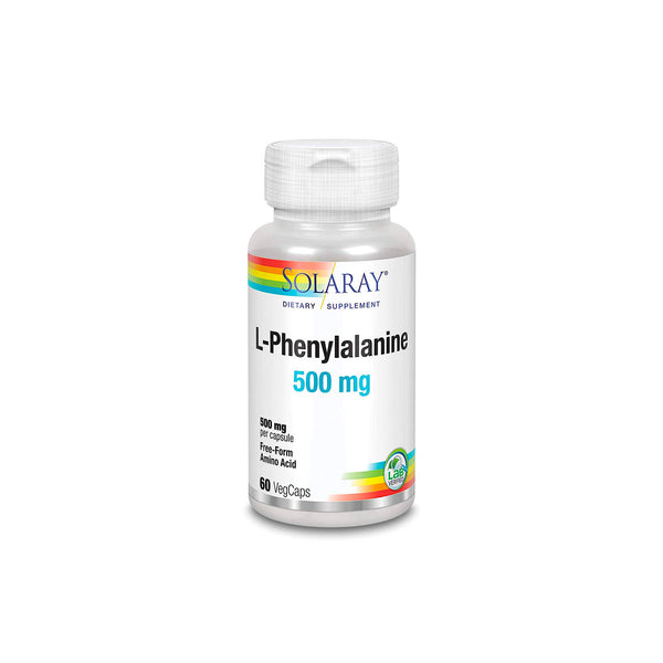 L-Phenylalanine 500mg Free-Form Amino Acid