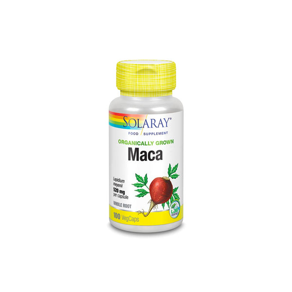 Organically Grown Maca 500mg - Whole Root
