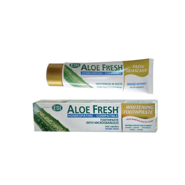 Aloe Fresh Whitening Toothpaste with Microgranules