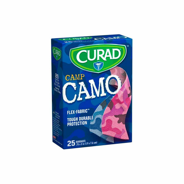 Camp CAMO Bandages - Box of 25