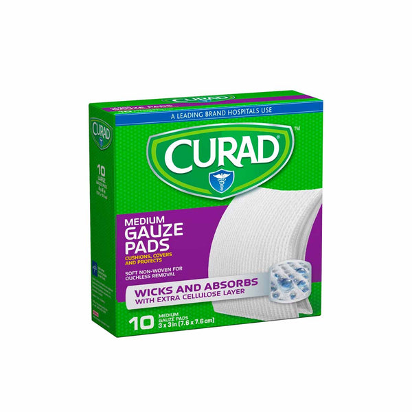 Medium Gauze Pads - Pack of 10