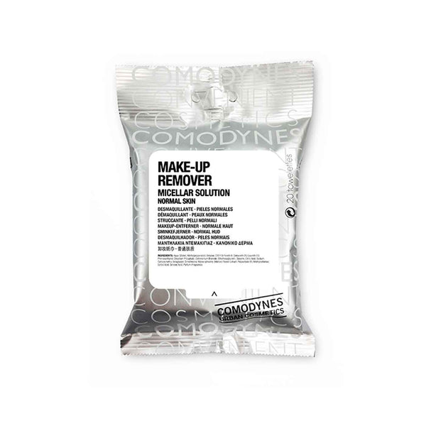 Make-Up Remover Micellar Solution Face & Eyes 3in1 - Normal Skin - 20 Wipes