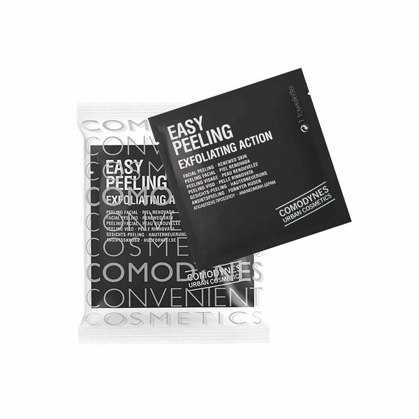 Easy Peeling Exfoliating Action - Pack of 8 Wipes