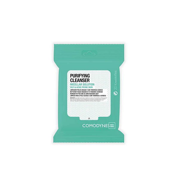 Purifying Cleanser Micellar Solution - Oily & Acne Prone Skin - 20 Wipes