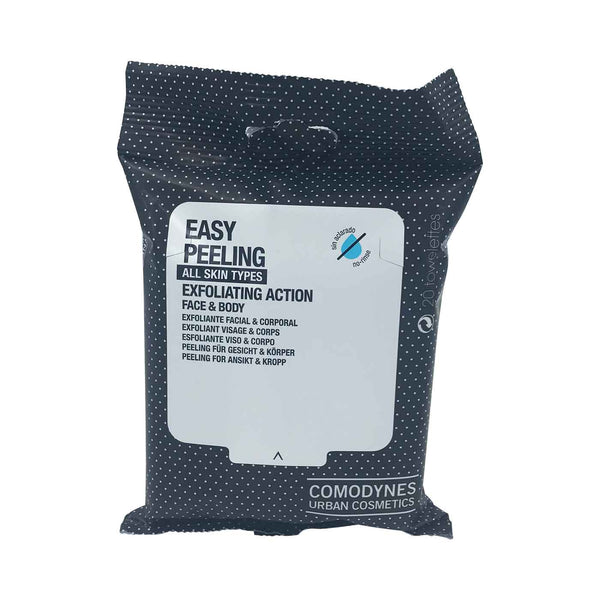 Easy Peeling Exfoliating Action - Face & Body - 20 Wipes