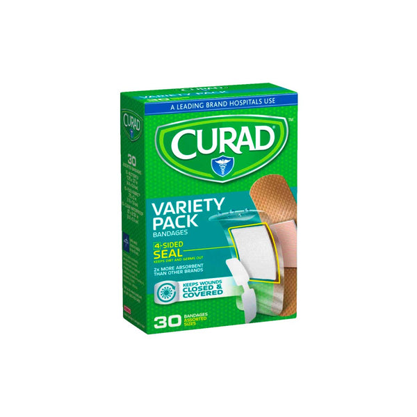 Variety Pack Bandages - Box of 30