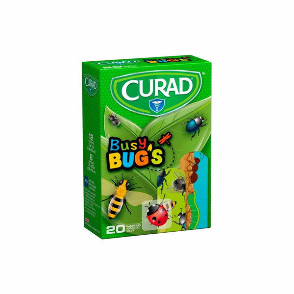 Busy Bugs Bandages - Box of 20