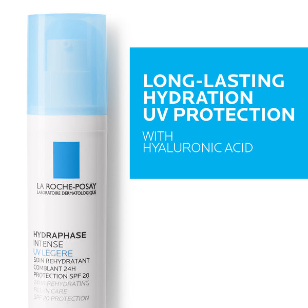 Hydraphase Intense UV Legere 24H Rehydrating Fill in Care SPF20 Protection