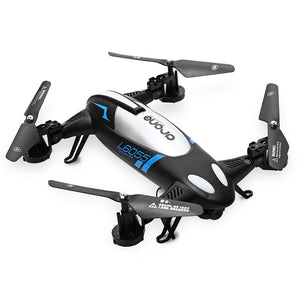 L6055 2.4G 4 Channel 6 Axis Gyro 2MP Wifi CAM RC Quadcopter Flying Car with High Hold RTF