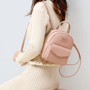 Women Backpack Mini Soft Touch