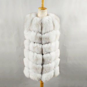 Women Fox Fur Coat