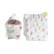 Load image into Gallery viewer, Newborn Infant Wrap Bedding Quilt