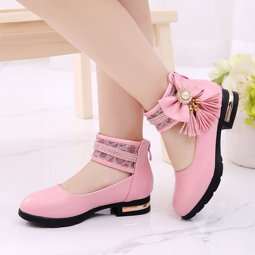 Children's Flats New Arrival Butterfly-knot
