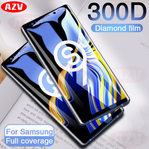 300D Full Curved Tempered Glass For Samsung Galaxy