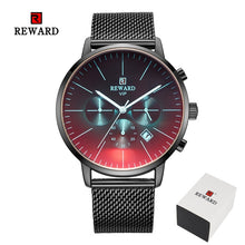 Load image into Gallery viewer, Luxury Brand Chronograph Men's Stainless Steel Business Clock Wrist Watch
