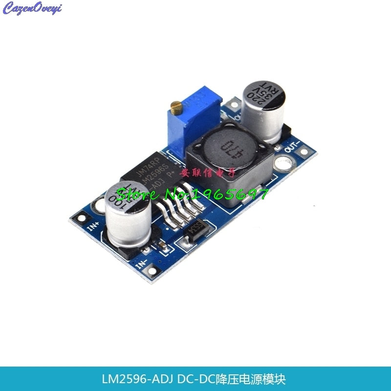DC / DC BUCK 3A adjustable buck module regulator