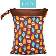 Load image into Gallery viewer, Reusable Waterproof Fashion Prints Wet Dry Diaper Bag