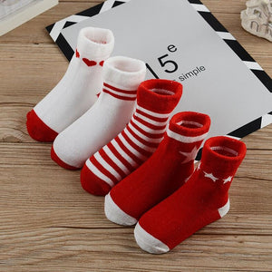 Thick baby toddler socks