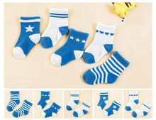 Load image into Gallery viewer, Thick baby toddler socks