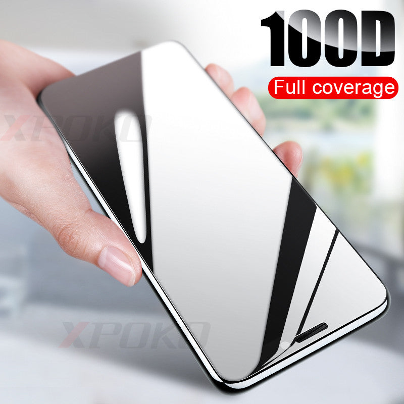 100D Curved Edge Protective Glass on the For iPhone