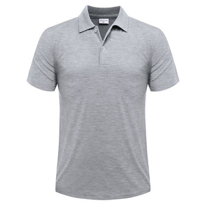 Casual short-sleeved polo suit