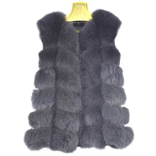 Laden Sie das Bild in den Galerie-Viewer, Red fox fur vest