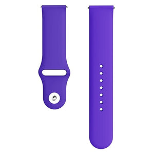 Soft Silicone bracelet 20mm 22mm strap Galaxy watch band