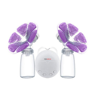 Electric Breast Pump With Milk Bottle