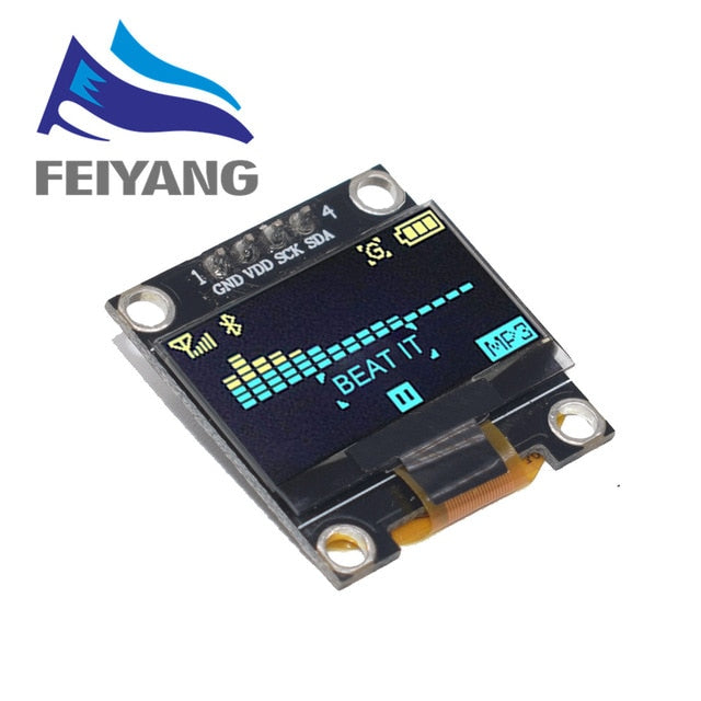 OLED Display Module I2C SSD1306 LCD Screen Board for Arduino