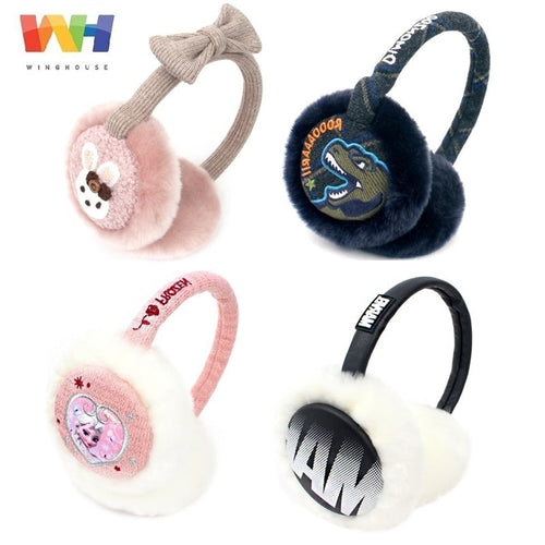 Frozen Rose Cartoon Rabbit Dinosaur Winter Headphones