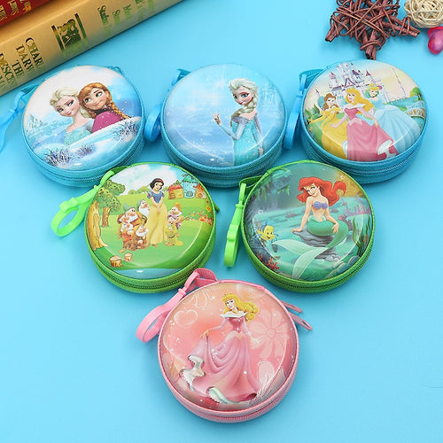 Disney cartoon Frozen children Coin Purse Elsa doll